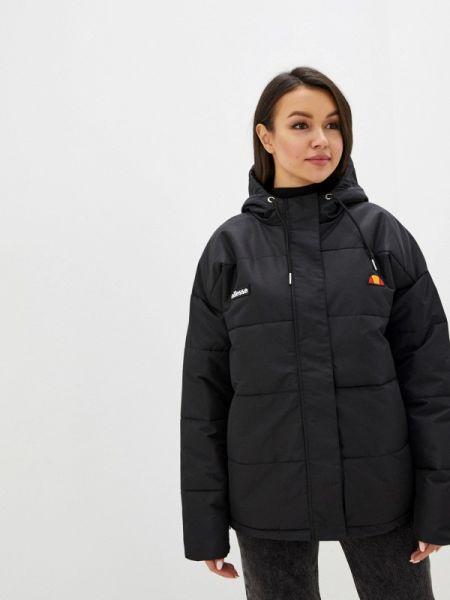 Утепленная куртка черная осенняя Ellesse