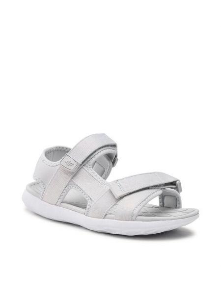Szare sandały 4f
