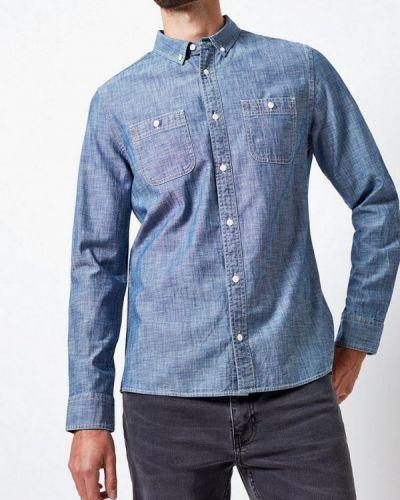 Джинсовая рубашка индийский синий Burton Menswear London