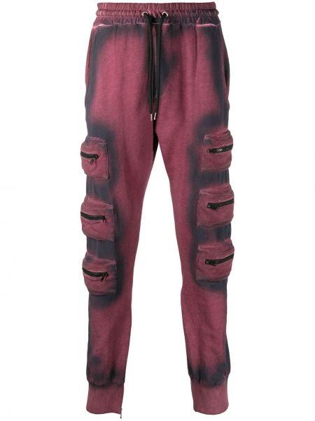Спортивные розовые спортивные брюки с поясом на шнурках Mauna Kea