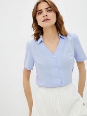 Голубая зимняя блузка Am One