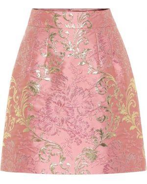 Юбка мини из парчи пачка Dolce & Gabbana