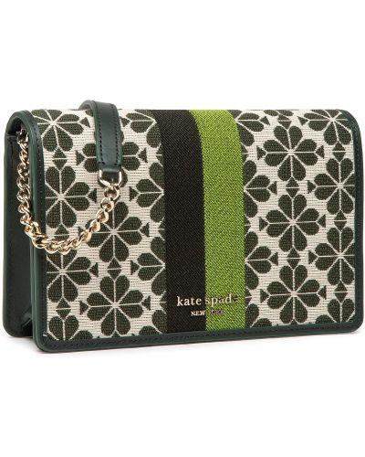 Zielony portfel Kate Spade