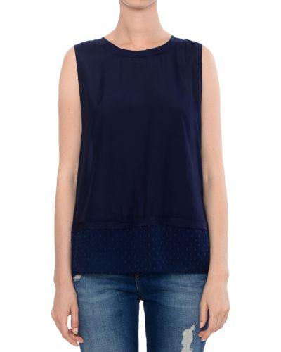 Синий топ Armani Jeans