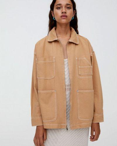 Куртка осенняя облегченная Pull&bear