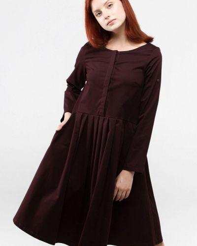 Платье осеннее прямое 7arrows
