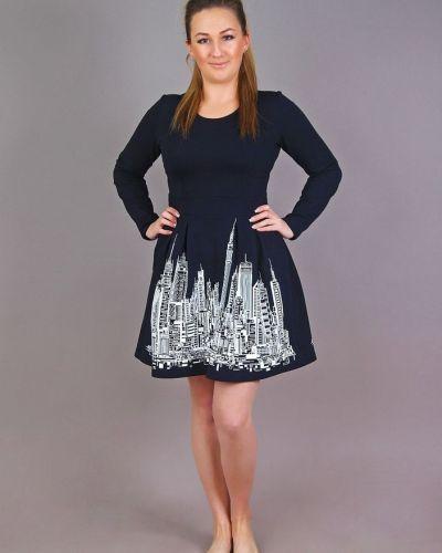 Платье мини повседневное из футера Грандсток