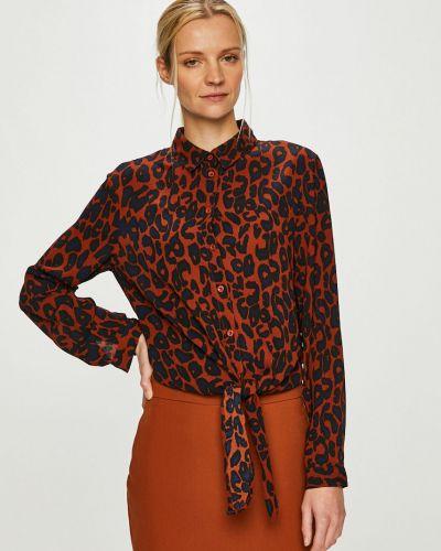 Блузка с длинным рукавом прямая на пуговицах Answear