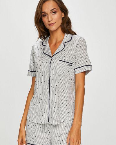 Пижама с шортами с карманами на пуговицах Dkny