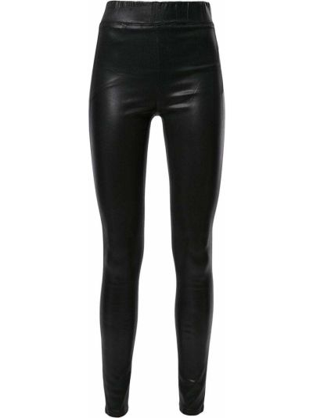 Хлопковые черные брюки с поясом узкого кроя L'agence