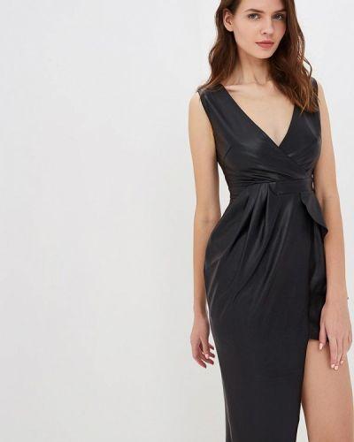 Платье осеннее черное Mirasezar