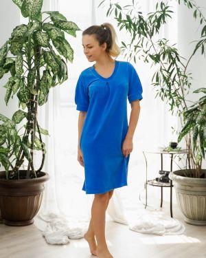 Платье велюровое Mix-mode