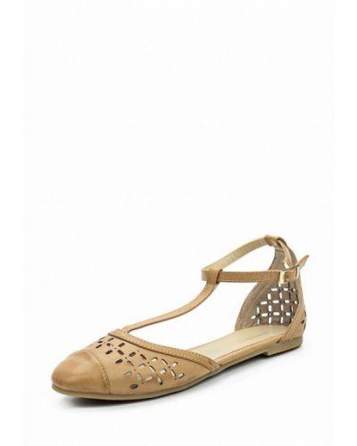Бежевые сандалии итальянские Primadonna
