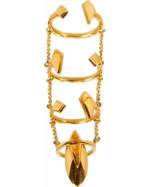 Желтое кольцо Valery Demure
