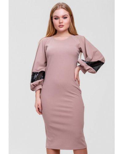 Платье - бежевое Sfn
