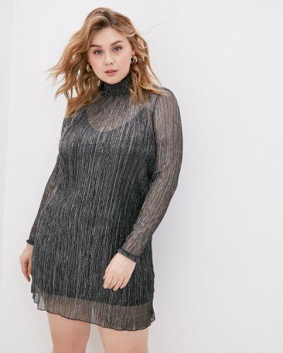 Серебряное вечернее платье Zarina