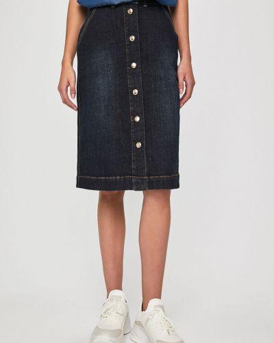 Юбка миди джинсовая с поясом Answear