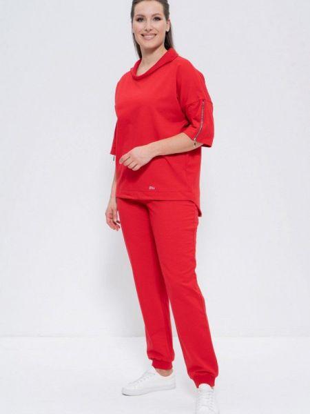 Красный костюмный спортивный костюм Cleo