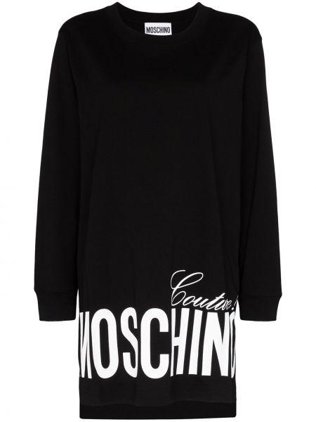 Платье оверсайз платье-толстовка Moschino