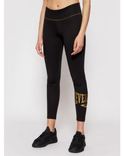 Czarne legginsy Everlast