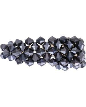 Синяя заколка металлическая Dalood
