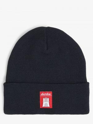 Niebieska czapka Derbe