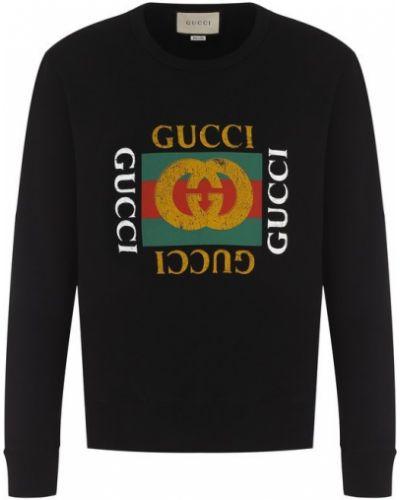 Черный свитер Gucci