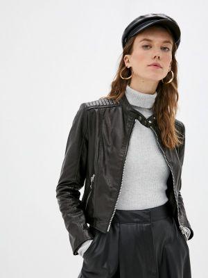 Кожаная куртка - черная Imperial