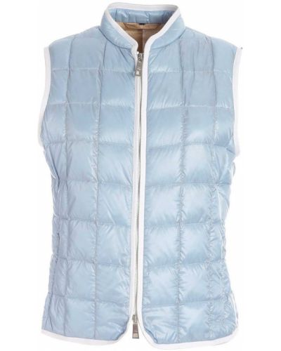 Niebieska kamizelka sportowa pikowana Fay
