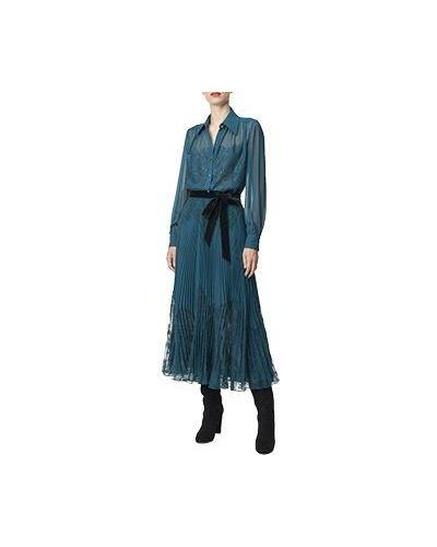 Зеленое вечернее платье Luisa Spagnoli