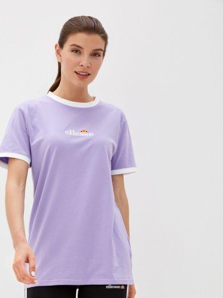 Поло фиолетовый футбольный Ellesse