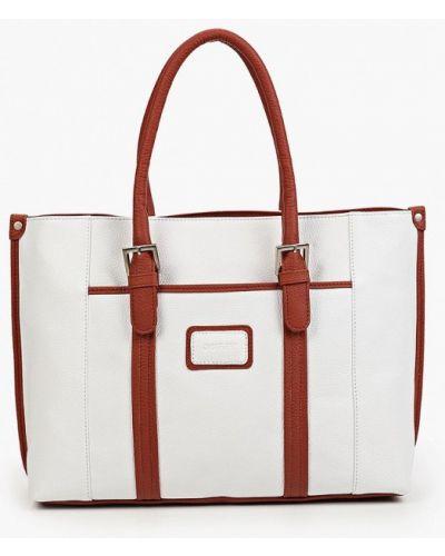 Белая сумка летняя Duffy
