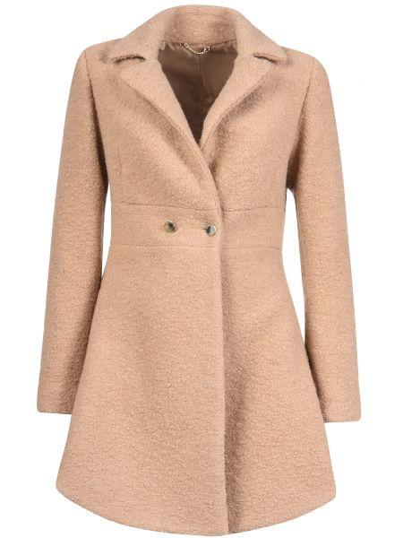 Шерстяное пальто - бежевое Mangano