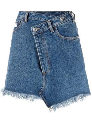 Джинсовая юбка - синяя Gcds