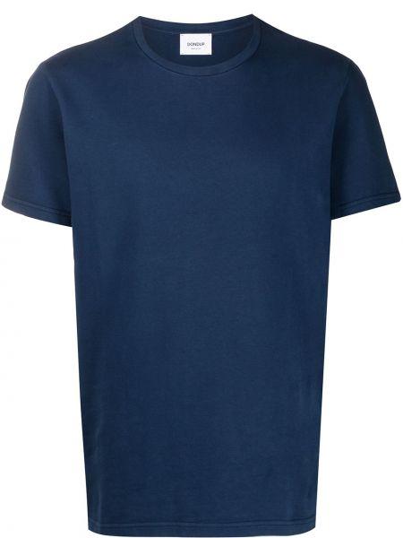 Koszula krótkie z krótkim rękawem prosto niebieski Dondup