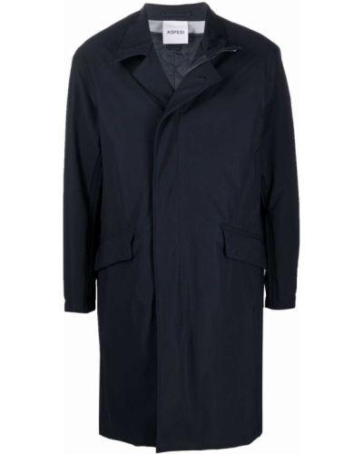 Płaszcz przeciwdeszczowy - niebieski Aspesi