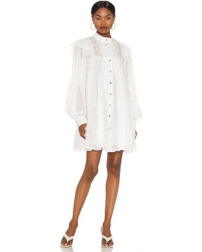 Sukienka koronkowa - biała One Teaspoon