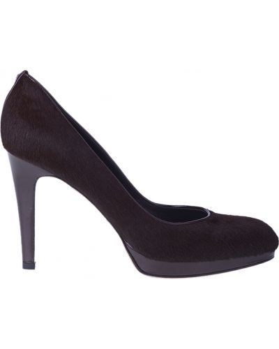 Кожаные туфли - коричневые Gianvito Rossi