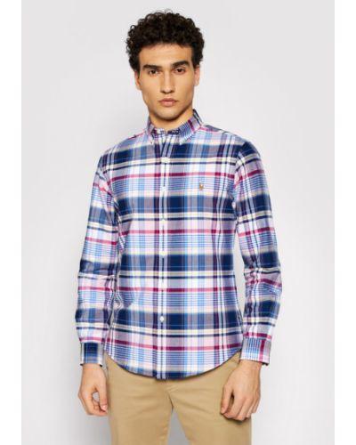 Różowa koszula oxford Polo Ralph Lauren