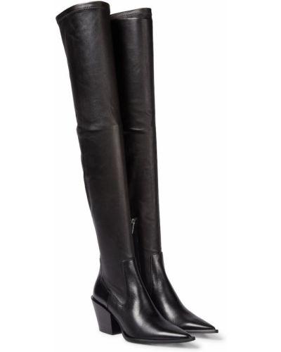 Черные кожаные валенки Dorothee Schumacher