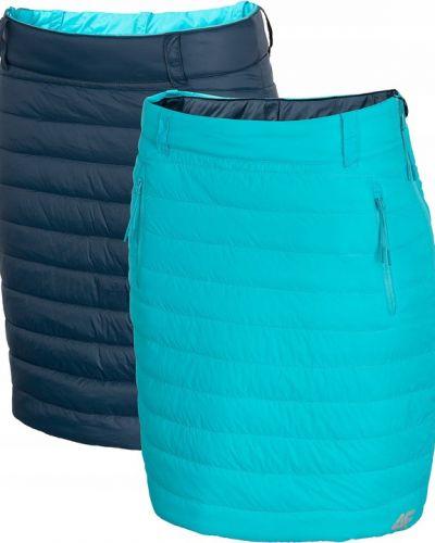 Ciepła spódnica turkusowa 4f