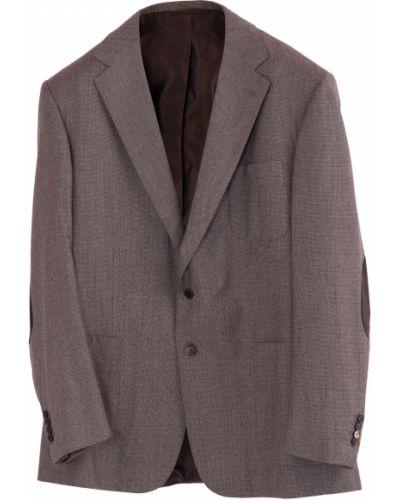 Пиджак прямой шерстяной Stefano Ricci