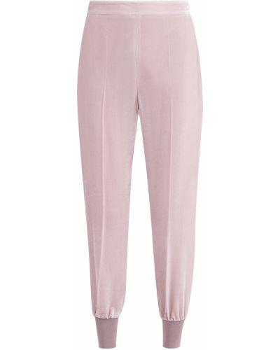 Свободные брюки вельветовые из вискозы Stella Mccartney