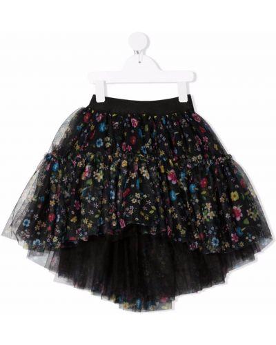 Czarna spódnica tiulowa Monnalisa