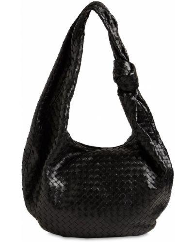 Кожаная сумка на молнии Bottega Veneta