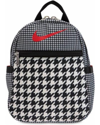Черный рюкзак с карманами Nike