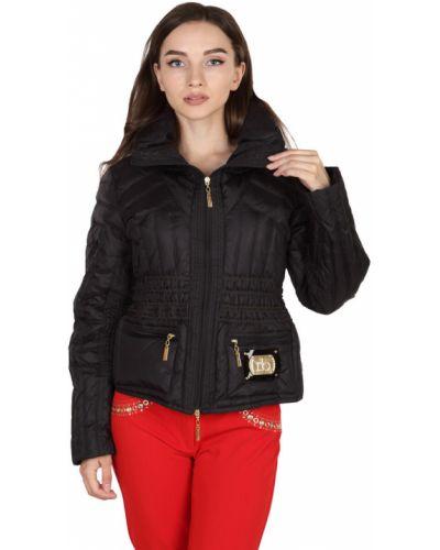Нейлоновая куртка - черная Roccobarocco
