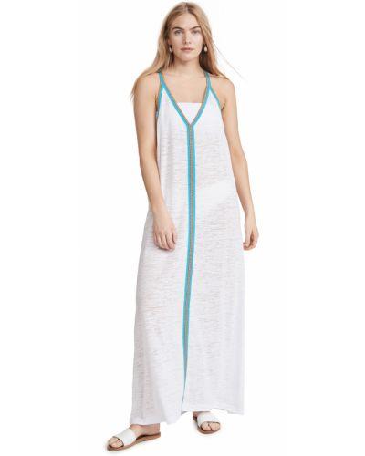 Хлопковое платье макси Pitusa