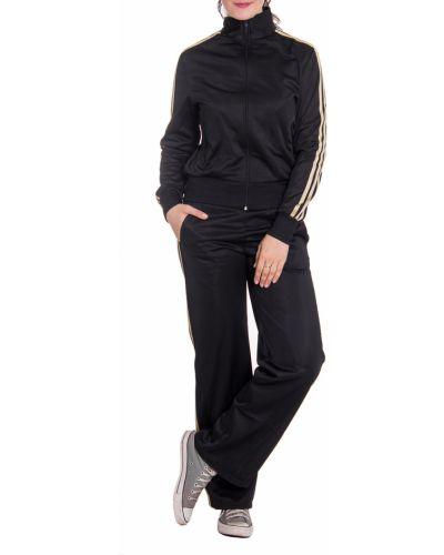 Спортивный костюм черный бежевый Lacywear