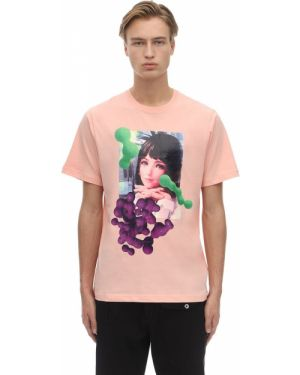 Różowy t-shirt bawełniany P.a.m. Perks And Mini